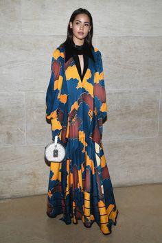 Urassaya Sperbund attends the Louis Vuitton show as part of the Paris Fashion Week Womenswear Spring/Summer 2018 on October 3, 2017 in Paris, France.