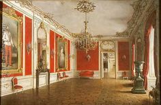 Handmade oil painting reproduction of J. Jaunbersin The Reception Room of the Hofburg Palace Vienna - on canvas and available in any size or choose another work from more than 250,000 different oil paintings and 25,000 artists. The highest quality paintings and great customer service!
