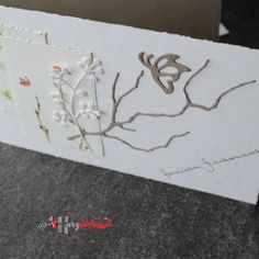 Herzschlüssel: Schmetterlinge ....Karten, Geburtstag, Alexandra Renke, Erlebeniswelt, Designpapier, Stempel, Stanzen, Dies, DIY