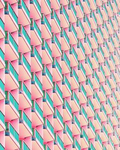 Colorful and Aesthetic Minimalist Photography by Aryton Page #inspiration #photography