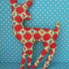 #Plush #Deer #Homemade #Craft #DIY