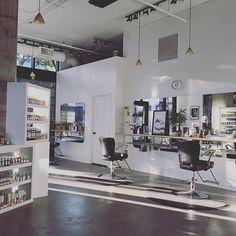 Heavenly salon vibes 🙌 @salonjames #randco #thecultureofhairdressing