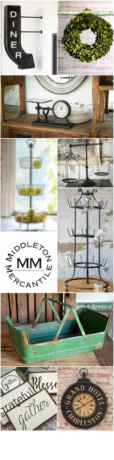 Middleton Mercantile / Farmhouse Favorites Collection