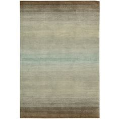 @Overstock - This casual area rug is hand-tufted in a natural color with brown, grey & green stripes. The pile height is 0.75' and the rug is constructed of polyester. This cosmopolitan rug with neutral color tones will fit in nicely to your living space.http://www.overstock.com/Home-Garden/Hand-tufted-Natural-Cosmopolitan-Rug-36-x-56/6201396/product.html?CID=214117 $128.19