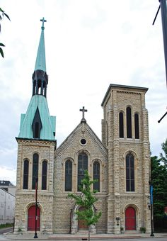 Christ Church Cathedral in Downtown Louisville, Kentucky.