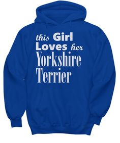 Yorkshire Terrier - Hoodie https://pagez.com/3532/33-facts-about-dogs