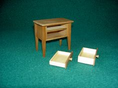Night Stand 608, bedMiniatures на Etsy