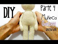 DIY Muñeca Charlotte Parte 4 amigurumi crochet/ganchillo (tutorial)