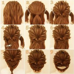 I want to do this! Too bad my hair can't do anything..Your the one who has to do it ,most hair won't do it's self . Prom Hairstyles For Short Hair, Work Hairstyles, Short Hair Updo, Pretty Hairstyles, Medium Hair Styles, Curly Hair Styles, Easy Hairstyle Video, Blowout Hair, Pinterest Hair