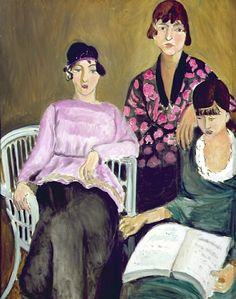 Henri Matisse  ~  The three sisters, 1916-14