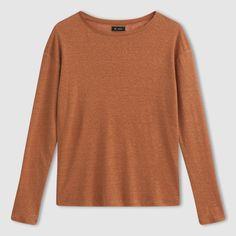 Compre Camisola de mangas compridas, puro linho Mulher na La Redoute. O melhor da moda online.