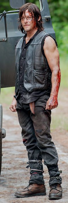 Norman Reedus Daryl Dixon The Walking Dead S6                                                                                                                                                                                 More