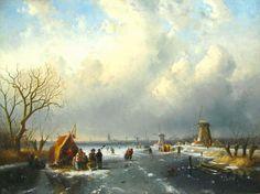 Charles Leickert, IJsgezicht