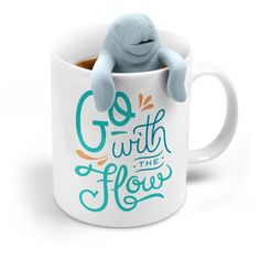 Fred and Friends TEA FOR TWO Infuser and Mug Gift Set, Manatea ** You can get more details at - bakeware