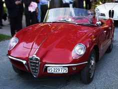 ALFA ROMEO Giulietta Spider Bertone 1955