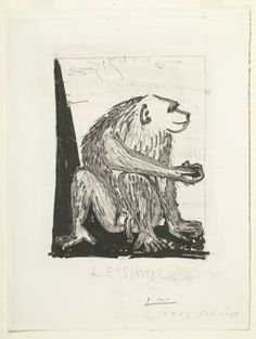 Pablo Picasso Etching - Le Singe (The Monkey)