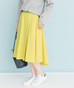 UR ランダムタックカラースカート(スカート)|URBAN RESEARCH(アーバンリサーチ)のファッション通販 - ZOZOTOWN