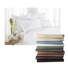 1600 thread Count Egyptian Comfort Bed Sheet Set - Save 78% Just $28 - 15 Colors Available in King/Queen