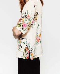 PRINTED TOP-Florals-TOPS-WOMAN | ZARA United States