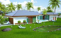 Procura projeto de casa? Então confira este projeto especial para quem busca curtir a família e amigos numa casa de campo ou de praia. Veja as plantas disponíveis,