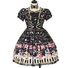 ♡ Angelic pretty ♡ Fantasy Theater dress http://www.wunderwelt.jp/products/detail13552.html ☆ ·.. · ° ☆ How to order ☆ ·.. · ° ☆ http://www.wunderwelt.jp/user_data/shoppingguide-eng ☆ ·.. · ☆ Japanese Vintage Lolita clothing shop Wunderwelt ☆ ·.. · ☆