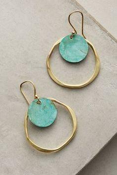 Catalina Double Hoop Earrings   Anthropologie