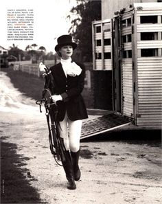 From Fall Winter 2012-13 Collections: Horse Rider - click on the photo to see all garments and accessories in Photogallery.