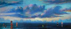 "Saatchi Art Artist Geoffrey Greene; Painting, ""One Day on Alo Cove"" #art"