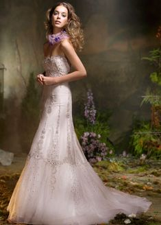 Lazaro LZ3916, $999 Size: 14 | Used Wedding Dresses