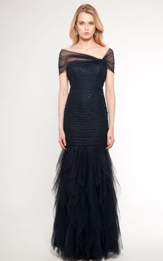 Ralph Lauren . Embellished jersey gown, $180, | evening gowns ...