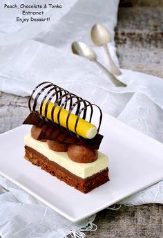 Mousse, Pie Dessert, Something Sweet, Mini Cakes, Beautiful Cakes, No Bake Cake, Yummy Cakes, Caramel, Cheesecake