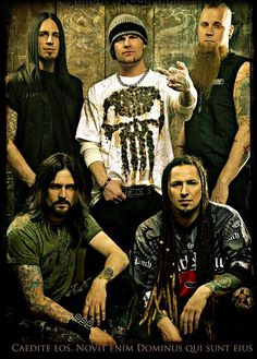 Five Finger Death Punch oh my they are so stinking good live!! Seen them 2X now. Once at ROTR 2012 and again at Carolina Rebellion 2014