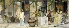 Lawrence_Alma-Tadema_-_The_vintage_festival_-_Google_Art_Project.jpg (10071×4114)