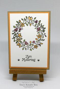Muttertagskarte mit Produkten von Stampin' Up!