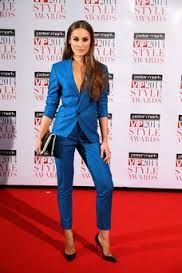 Model Roz Purcell rocking this suit at the 2014 VIP Style Awards