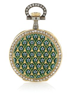 Watches, Parts & Accessories Cabochon Nurses Brooch Fob Watch Excellent In Cushion Effect