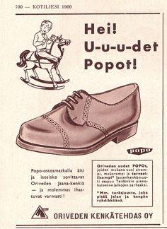 ORIVEDEN KENKÄTEHDAS Kotiliesi 1960