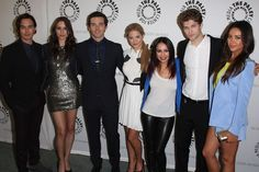 Shay Mitchell at 'Pretty Little Liars' Red Carpet, at The Paley Center For Media, Beverly Hills on June 10, 2013