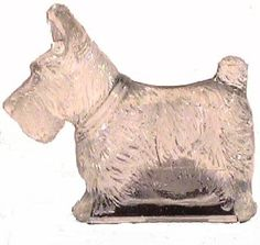 ScottieCandy.jpg.   Depression Glass Scotty Candy Container