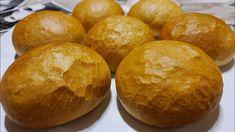 Vizes Zsemle recept házilag (TangZhong eljárással) - Gábor a Házi Pék Hamburger, Bread, Youtube, Food, Brot, Essen, Baking, Burgers, Meals