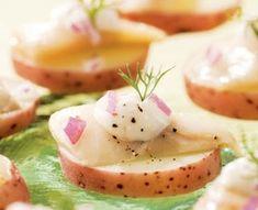 Finnish Pickled Herring Bites Appetizer Recipe