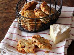 Sablés au camembert et au chorizo