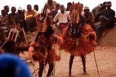 Dogon ceremonial Dancers