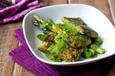 Tempeh Chimichurri: a trip to Indonesia and Argentina, all in one dish (vegan).