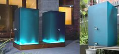 Katrina Logan's beautiful   resin rainwater tanks