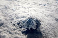 Mount Fuji From Above