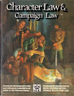 Rolemaster - Character Law & Campaign Law (2nd Edition) - found this in a discount bin and it looked cool