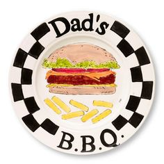 "Kids to create for Fathers Day ""Dads BBQ Plater"""