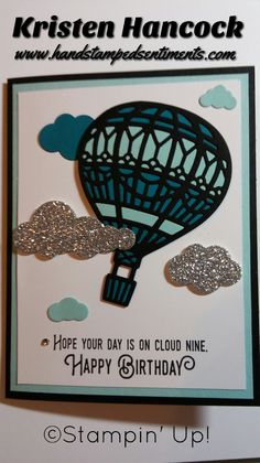 Lift me Up Stampin' Up! #liftmeup #stampinup #handstampedsentiments