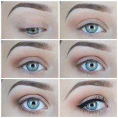 Natural eyeshadow tutorial for beginners